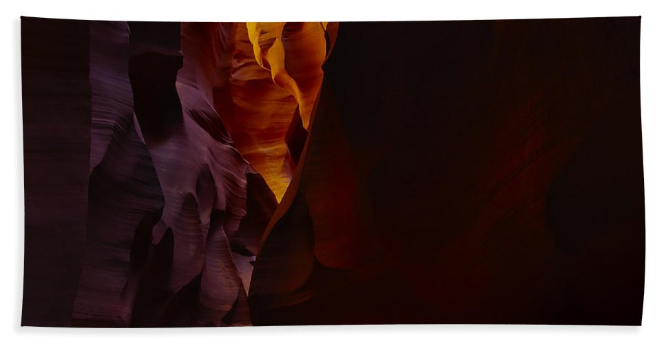 Antelope Hand Towel featuring the photograph Antelope Canyon 29 by Ingrid Smith-Johnsen