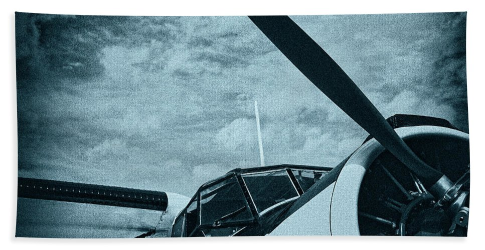 Image Hand Towel featuring the photograph Antonov An-2 by Jan Brons