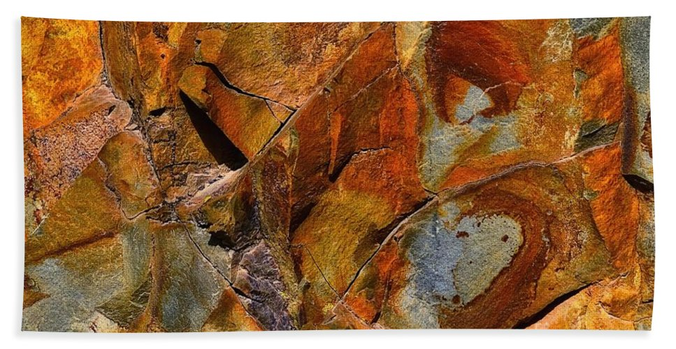Abstract Bath Sheet featuring the photograph Apart by Lauren Leigh Hunter Fine Art Photography
