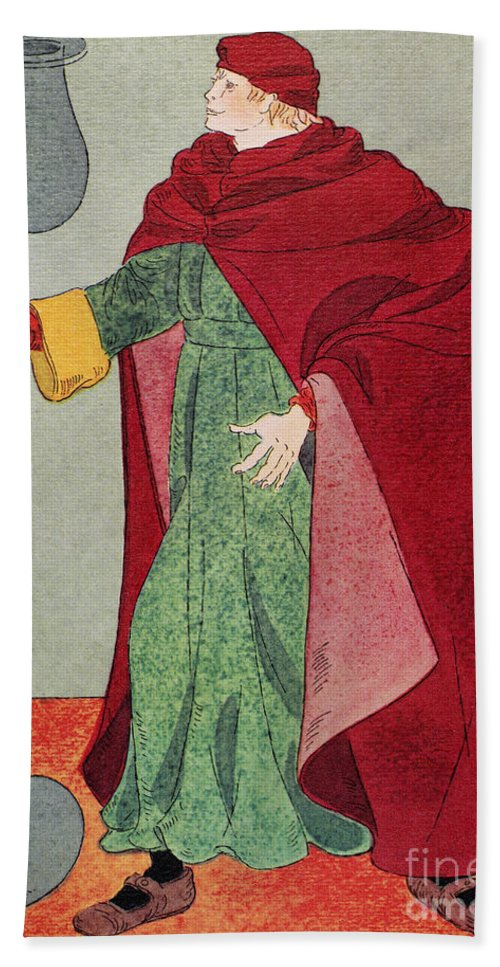 15th Century Bath Sheet featuring the photograph Apothecary, 15th Century by Granger