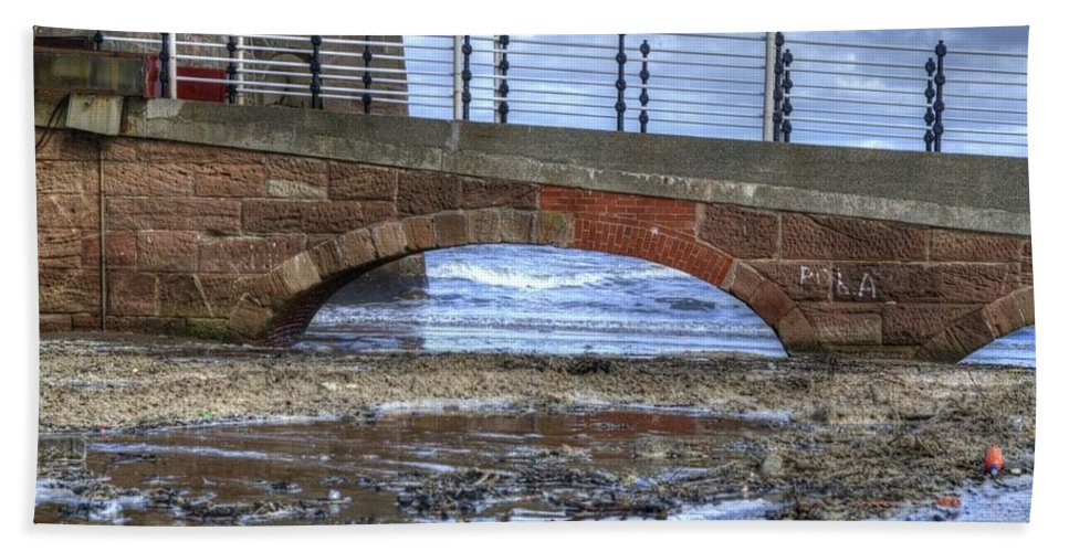 Fort Bath Sheet featuring the photograph Arches by Spikey Mouse Photography