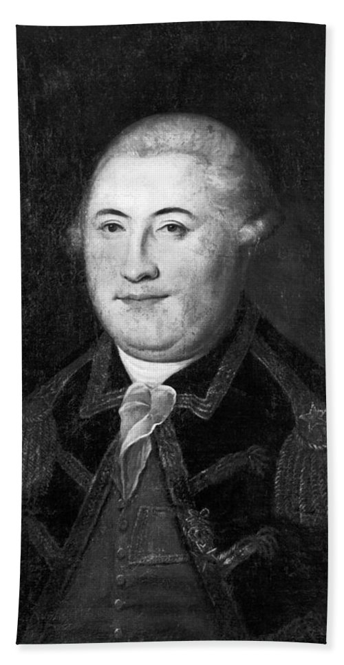 18th Century Hand Towel featuring the photograph Armand Louis De Gontaut by Granger