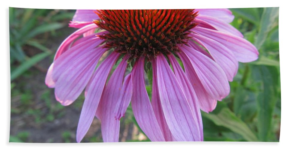 Flower Hand Towel featuring the painting Aroma Of Life by Robert Nacke