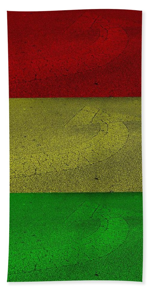 Arrows Hand Towel featuring the photograph Arrow Stop Light by Rob Hans