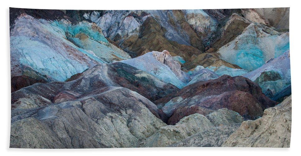 Artists Palette Hand Towel featuring the photograph Artist's Palette by George Buxbaum