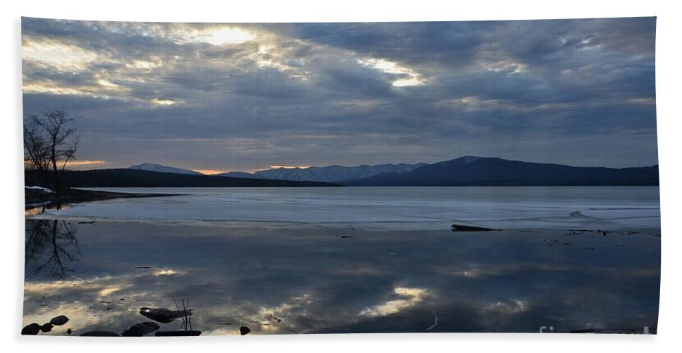 Water Hand Towel featuring the photograph Ashokan Reservoir 20 by Cassie Marie Photography