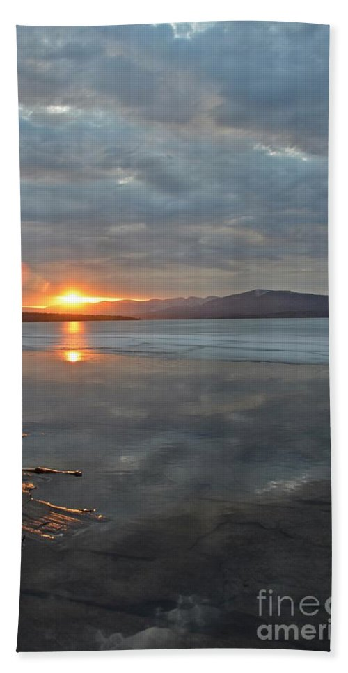 Water Hand Towel featuring the photograph Ashokan Reservoir 36 by Cassie Marie Photography