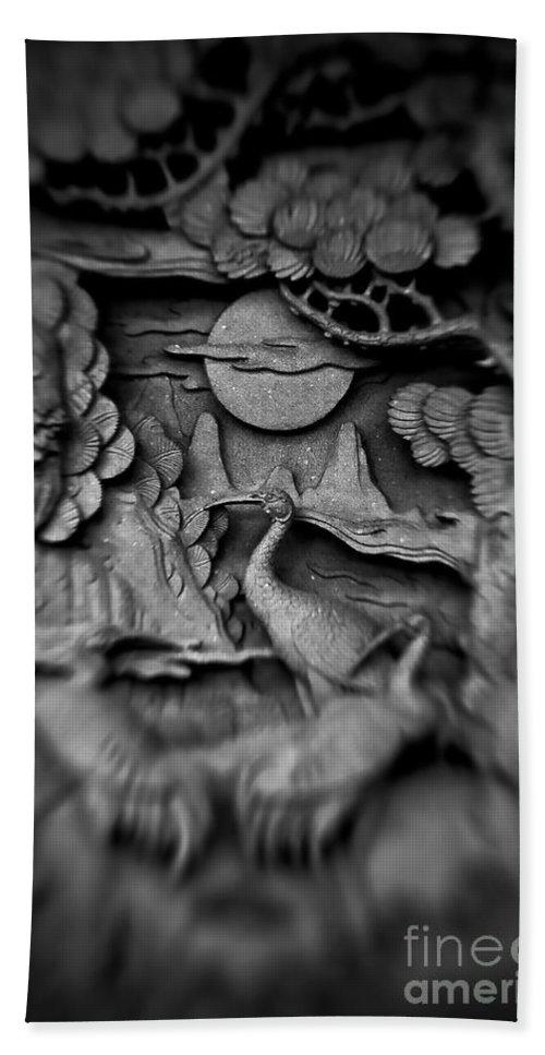 Asian Bath Sheet featuring the photograph Asian Intricacy by Venetta Archer