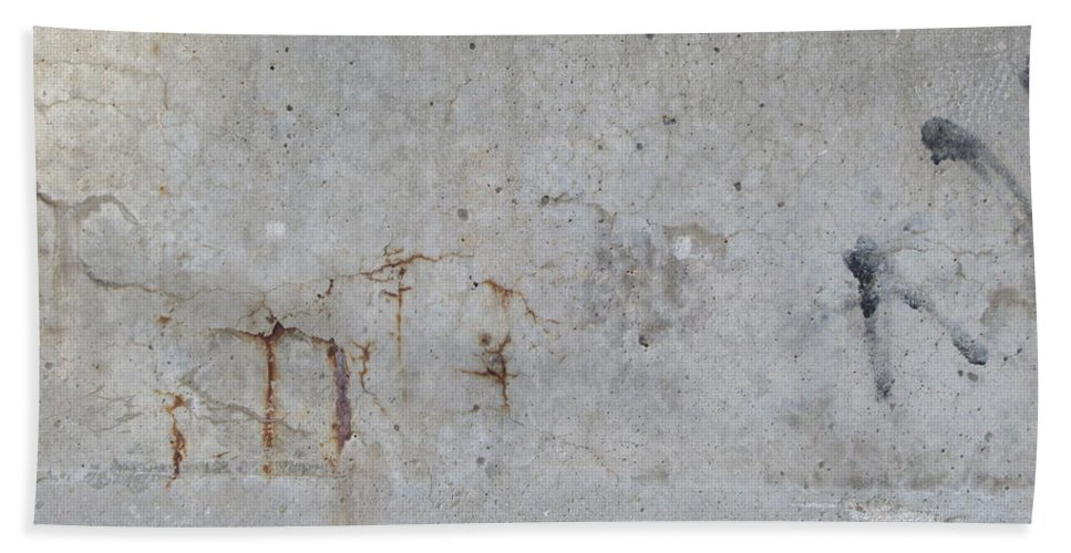Abstract Hand Towel featuring the photograph Astract Concrete 1 by Anita Burgermeister