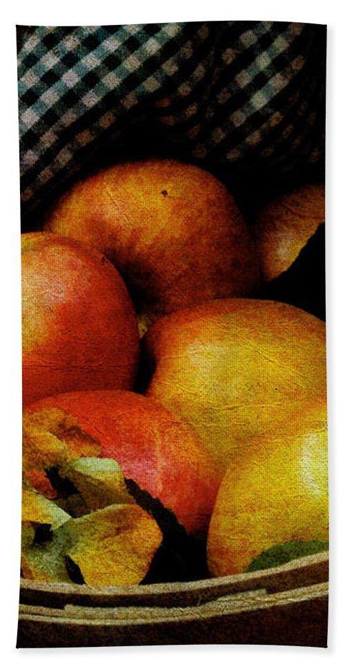 Halloween Bath Sheet featuring the photograph Autumn Harvest by Lois Bryan