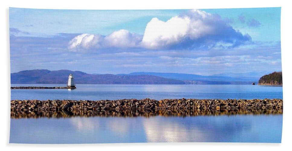 Photography Hand Towel featuring the photograph Autumn Light by Mike Reilly