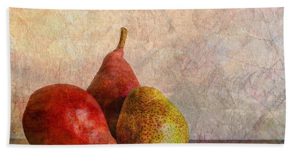 Art Bath Sheet featuring the photograph Autumn Trio by Heidi Smith