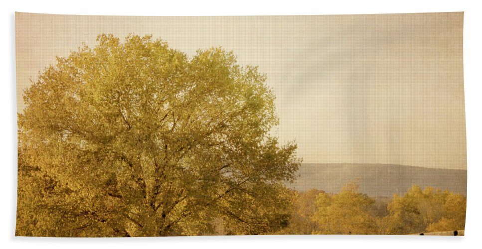 Autumn Hand Towel featuring the photograph Autumn Wonders by Kim Hojnacki