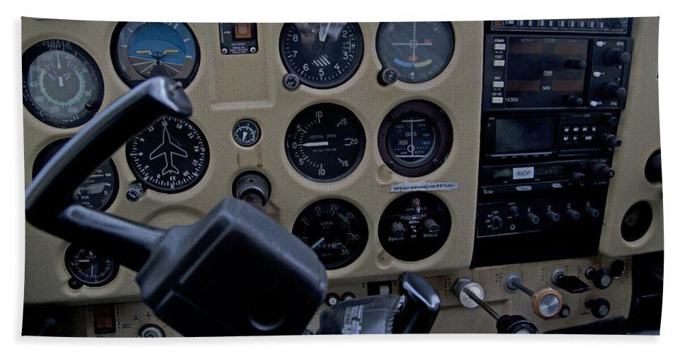 Aviation Hand Towel featuring the photograph Aviation Near Jekyll Island by Betsy Knapp
