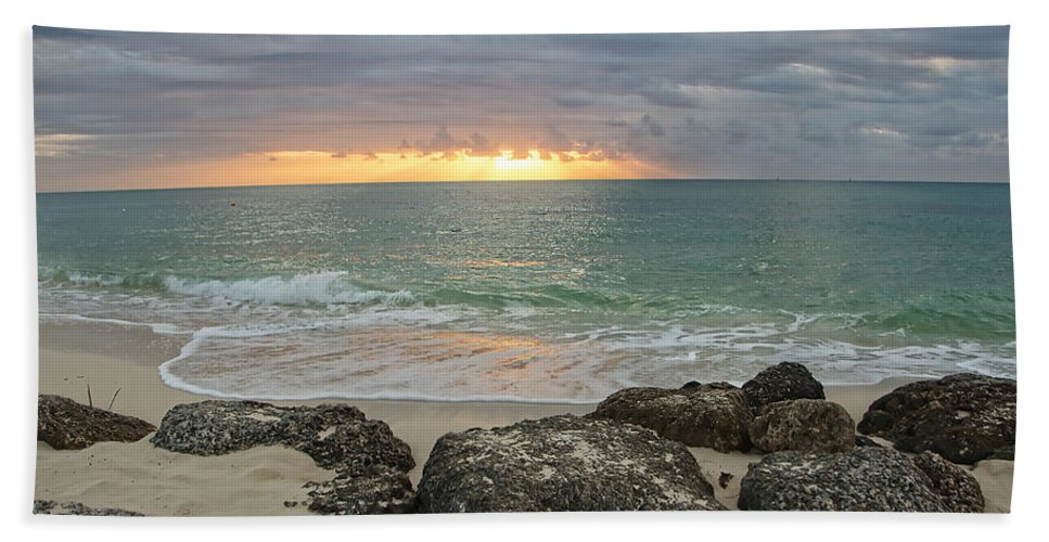 Beach Hand Towel featuring the photograph Awakenings by Donna Doherty
