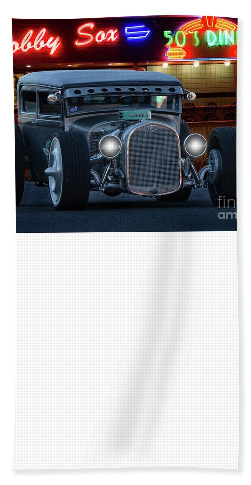 Ghost Town Hand Towel featuring the photograph Gasoline Pump Randsburg California by Bob Christopher