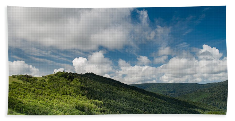 Lupine Bath Sheet featuring the photograph Bald Hills In Spring by Greg Nyquist