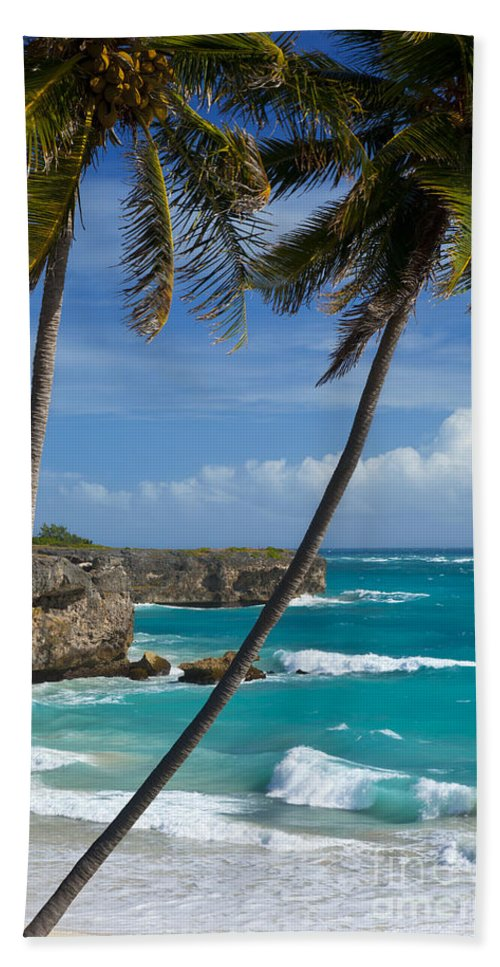 Barbados Hand Towel featuring the photograph Barbados by Brian Jannsen