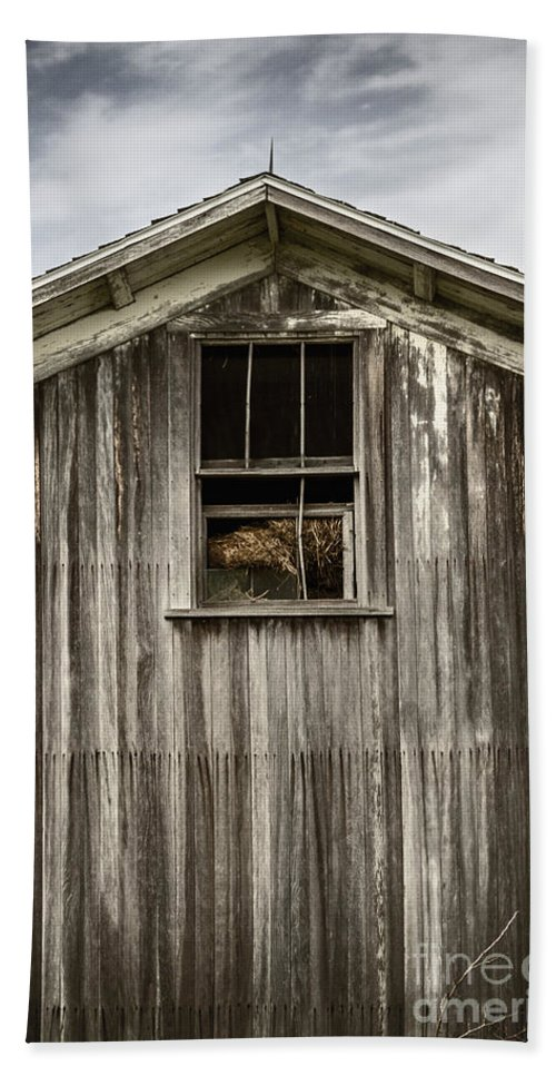 Old Hand Towel featuring the photograph Barn Window by Margie Hurwich