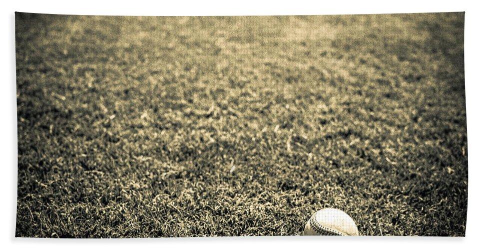 Cal Ripkin Bath Sheet featuring the photograph Baseball Field 3 by YoPedro