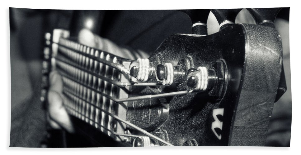 Art Hand Towel featuring the photograph Bass by Stelios Kleanthous