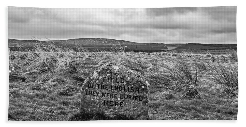 Travel Hand Towel featuring the photograph Battle Of Culloden by Elvis Vaughn