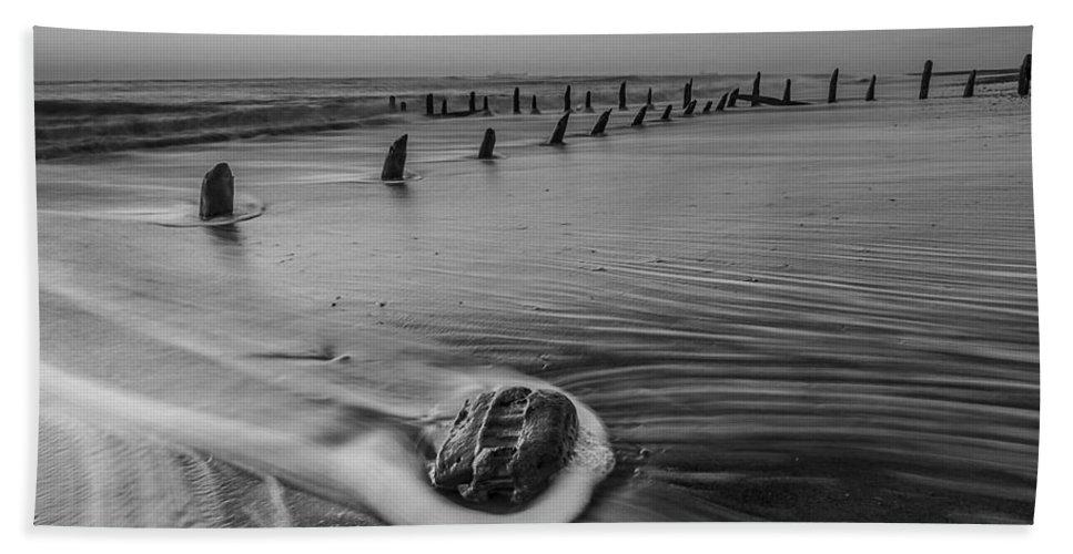 Beach Bath Sheet featuring the photograph Beach 8 by Ingrid Smith-Johnsen