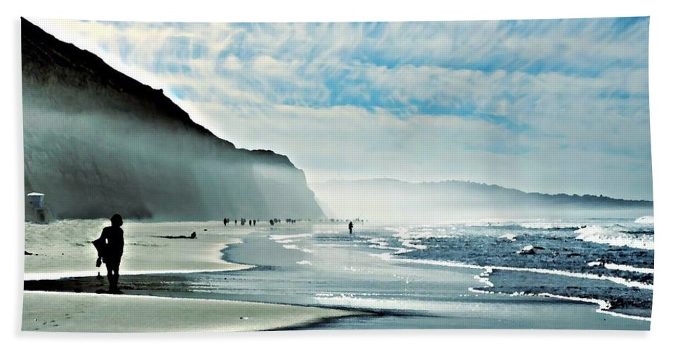 Beach Hand Towel featuring the photograph This Is The Day That The Lord Has Made... by Sharon Tate Soberon