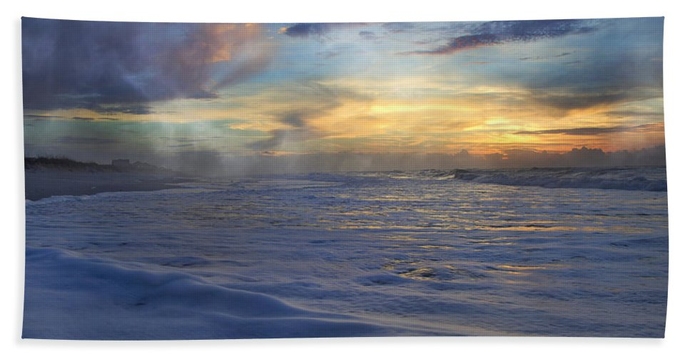 Topsail Hand Towel featuring the photograph Beautiful Moments by Betsy Knapp