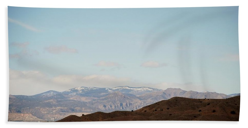 Desert Hand Towel featuring the photograph Beautiful New Mexico by Rob Hans