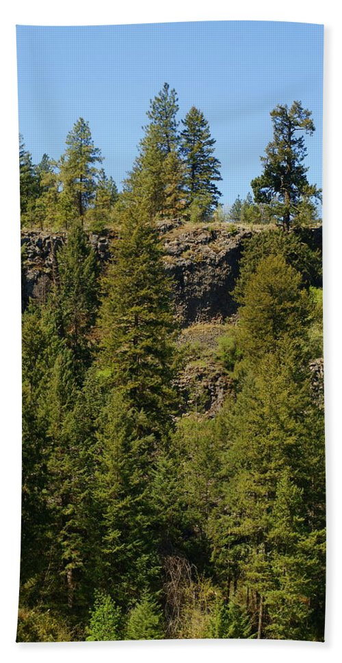 Spokane Hand Towel featuring the photograph Beautiful Spring Day In Spokane by Ben Upham III