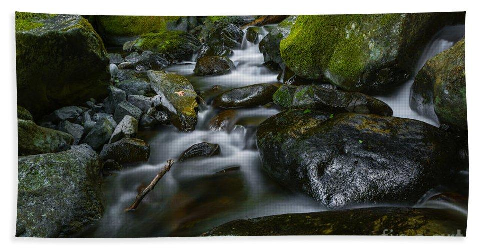 Stream Bath Sheet featuring the photograph Beautiful Stream by Vishwanath Bhat