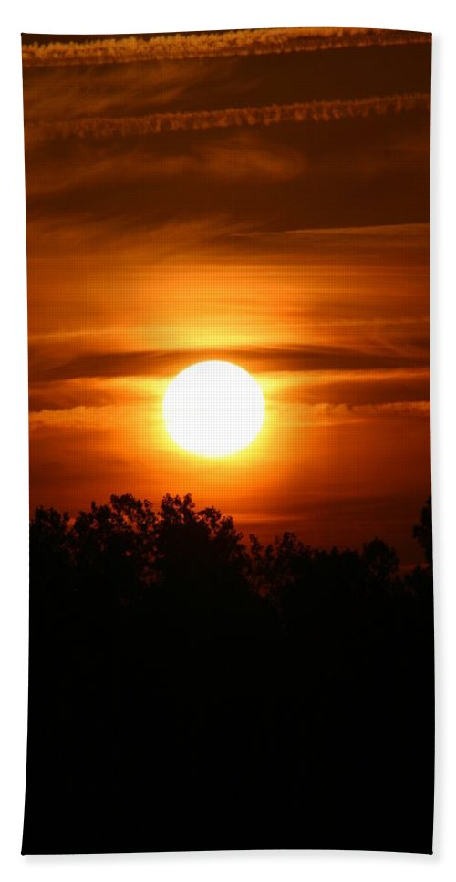 Laura Duhaime Photography Bath Sheet featuring the photograph Beautiful Sunrise by Laura Duhaime