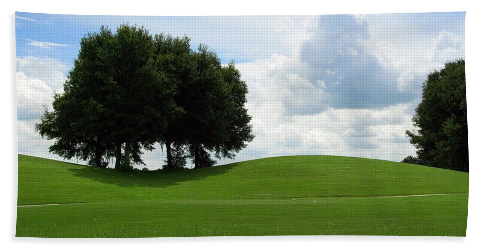 Golf Bath Sheet featuring the photograph Beautiful View by Beverly Stapleton