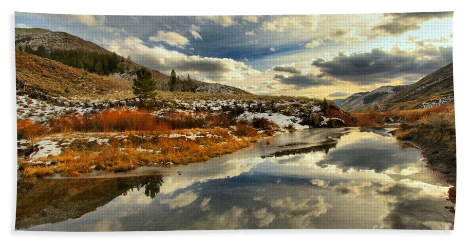 Salt River Pass Bath Sheet featuring the photograph Beauty In Bridger by Adam Jewell