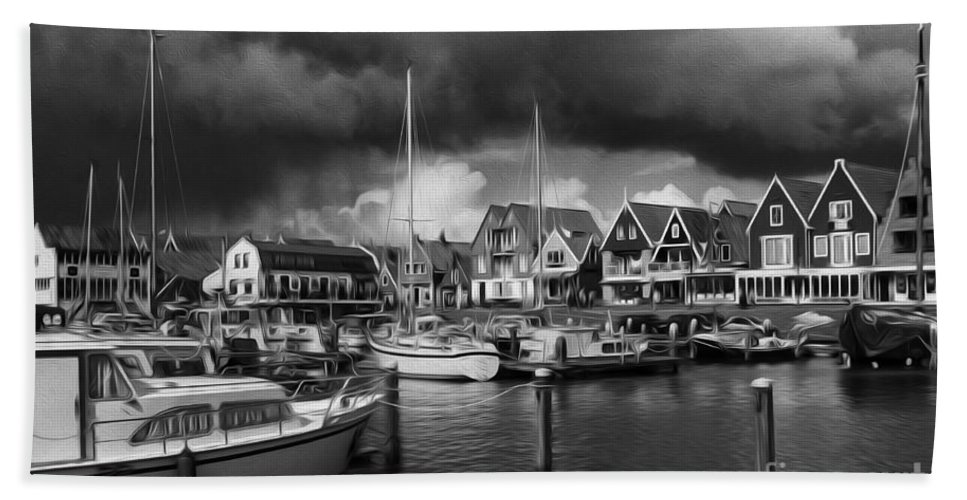 Volendam Bath Sheet featuring the photograph Beauty Of Holland 1 by Bob Christopher