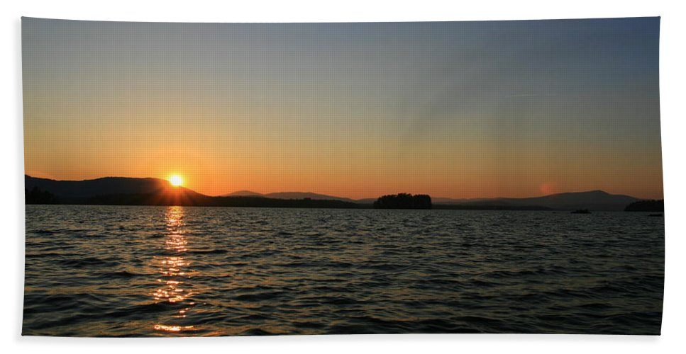Lake Umbagog Bath Sheet featuring the photograph Beauty On The Refuge by Neal Eslinger