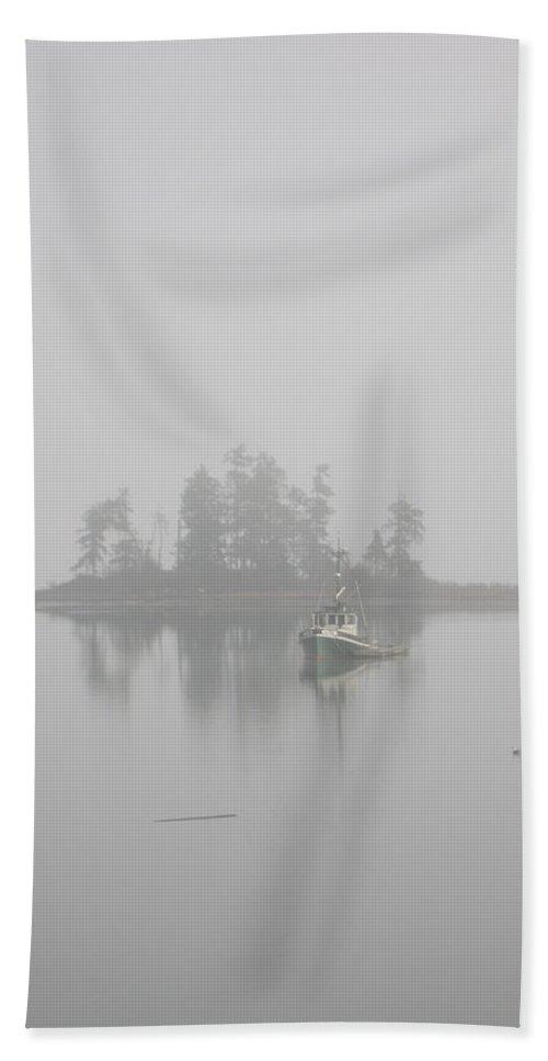 Landscape Bath Sheet featuring the photograph Becalmed by Carlene Salazar