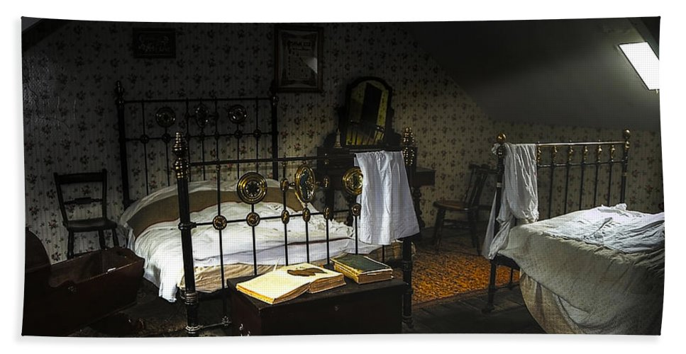 Beamish Hand Towel featuring the photograph Bedroom by Svetlana Sewell