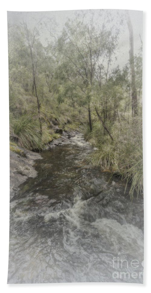 Beedelup Bath Sheet featuring the photograph Beedelup Falls by Elaine Teague