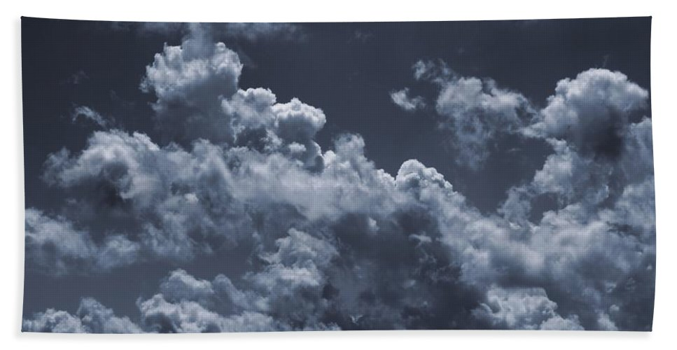 Cumulonimbus And Tree Hand Towel featuring the photograph Before The Storm by Dan Sproul