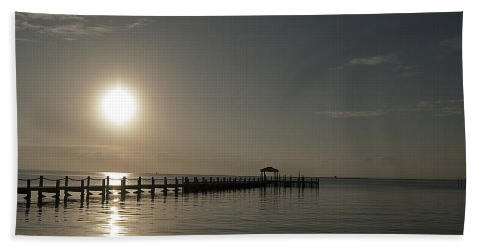 Holgate Long Beach Island Nj Bath Sheet featuring the photograph Before The Sunset by Elsa Marie Santoro
