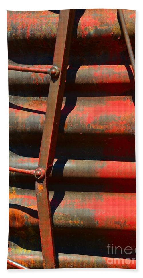 Abstract Hand Towel featuring the photograph Bent Out Of Shape by Lauren Leigh Hunter Fine Art Photography