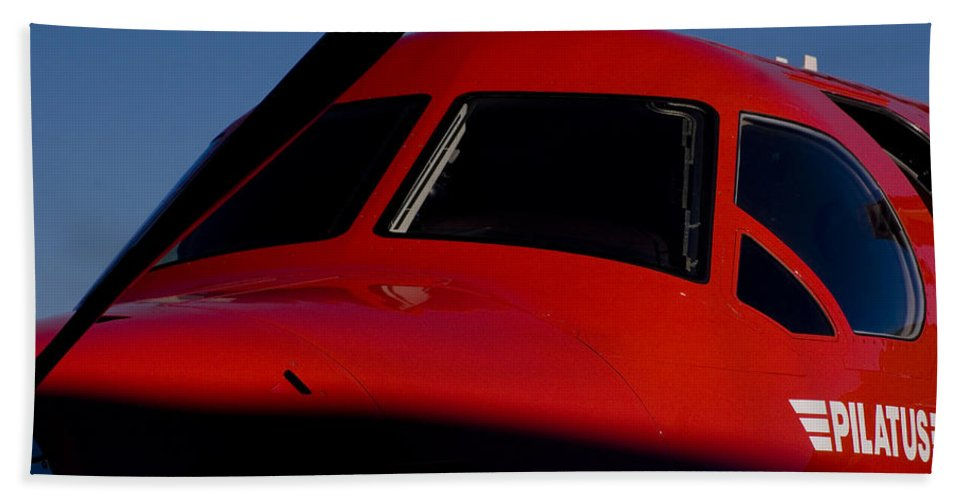 Pilatus Pc 12 Golden Eagle Bath Sheet featuring the photograph Big Eyes by Paul Job