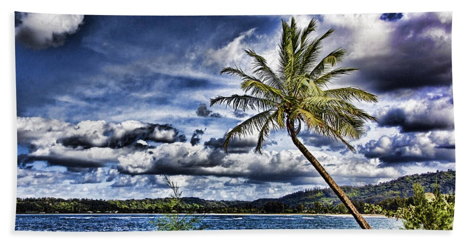 Hawaii Hand Towel featuring the photograph Big Island Beaches V2 by Douglas Barnard