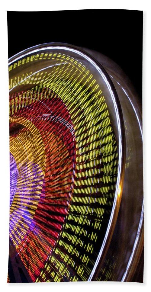 Fair Bath Sheet featuring the photograph Big Wheel by Caitlyn Grasso