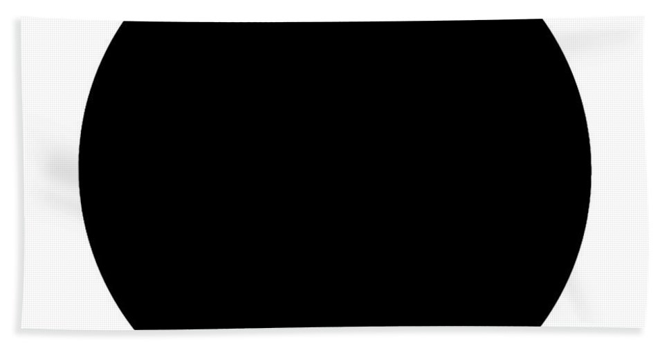 Black Bath Sheet featuring the digital art Black And White Art 165 by Ely Arsha