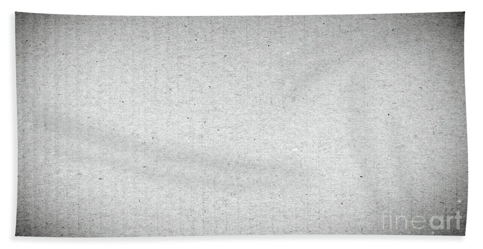 Packing Bath Sheet featuring the photograph Black And White Grainy Background by Tim Hester