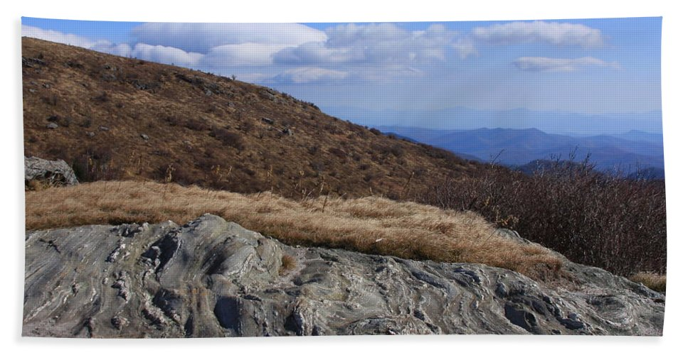 Mountains Bath Sheet featuring the photograph Black Balsam Knob-north Carolina by Mountains to the Sea Photo