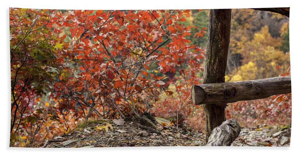 Landscape Bath Sheet featuring the photograph Blended Colors. by Rob Dietrich